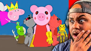 PIGGY ENDGAME RETURNS... (PEPPA PIG CHARACTERS VS PIGGY CHARACTERS)