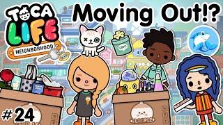 Toca Life Neighbourhood | Moving Out!? #24