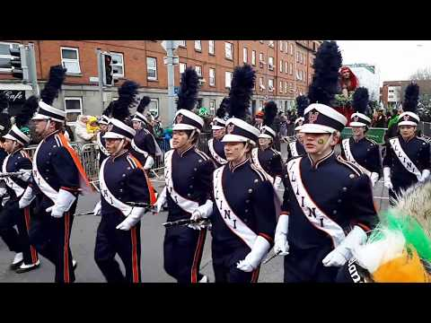 The St Patrick's Day Parade in Dublin 2018