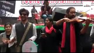 Bol re saathi halla bol | Young India adhikar March   - YouTube