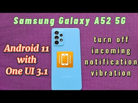 how to turn off incoming notifications vibration for individual apps with Samsung phone android 11
