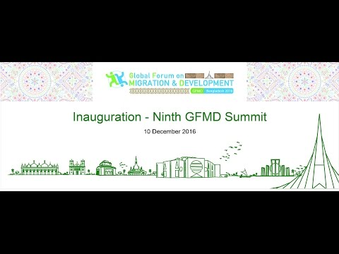 Ninth GFMD Summit Meeting - Opening Ceremony