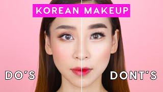 Korean Makeup Dos And Donts | TINA YONG