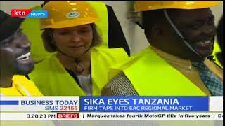 Business Today 13th November 2017 - Sika eyes to taps into EAC Regional Market