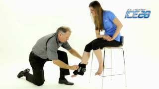 Video: ICE20 Double Ankle Compression Ice Pack Wrap