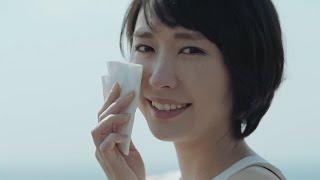 【日本CM】新垣結衣流淚要用紙巾抹但只抹一邊太神奇 (笑)