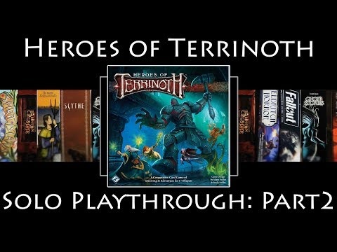 Heroes of Terrinoth: Rules Overview & Solo Playthrough | The Goblin Problem | Part 2
