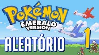 Pokémon Emerald Aleatório #1 - O MELHOR DESAFIO