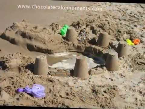 45 ideas, sand and toys for children on the beach - La arena y juguetes para niños en la playa