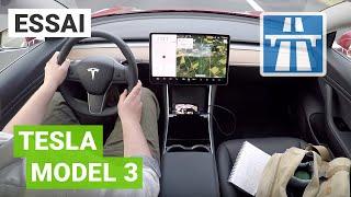 Tesla MODEL 3 performance : essai POV détaillé