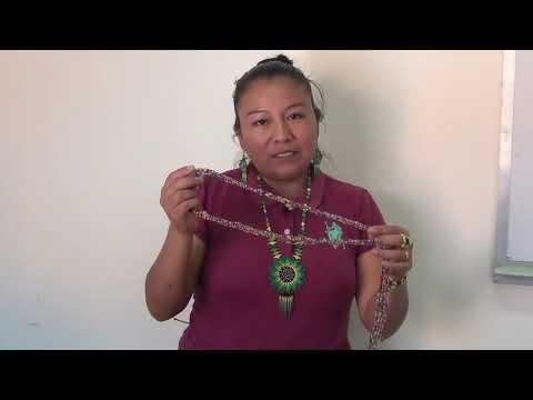 Cintiayeli, orgullosa artesana de Pahuatlán