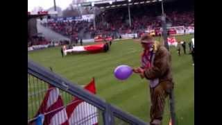 preview picture of video 'Energie Cottbus - 1. FC Köln (Kölner Support)'