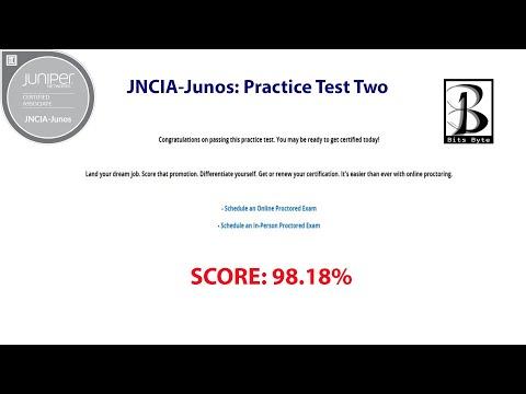 Juniper Networks JNCIA-Junos: Practice Test Two ... - YouTube