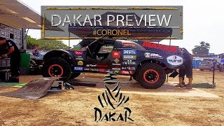 Dakar 2018; the car, the team, the challenge with Tim and Tom Coronel