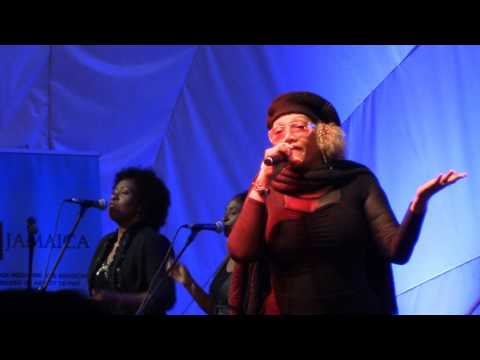 """Marcia Griffiths empowers women in song & channels Bob Marley's 'No Woman No Cry"""" in #GBV fight"""