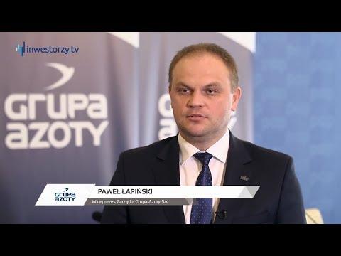 Grupa Azoty - komentarz wiceprezesa zarządu, Pawła Łapińskiego - zdjęcie