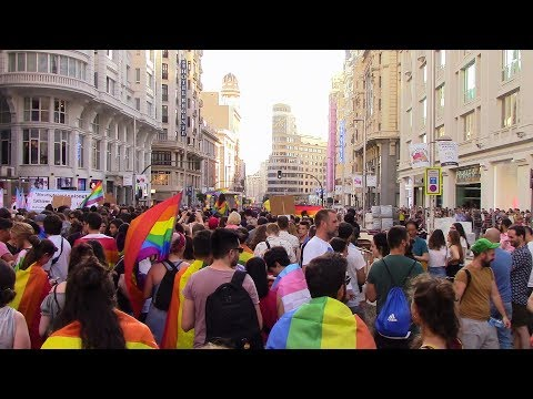 Manifestación Orgullo Crítico 2018 LGTB - Madrid