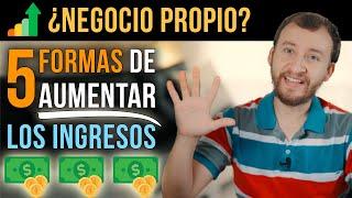 Video: 5 Estrategias Probadas Para AUMENTAR Los INGRESOS De Tu Negocio