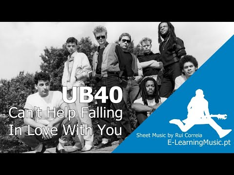 UB40 - Cant help falling in love (Instrumental)