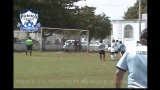 preview picture of video 'Primer Gol de Pichitos Valladolid en la Semifinal Vs Modelo'