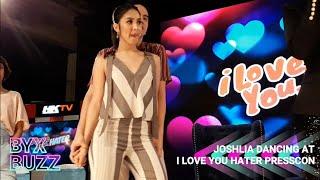Joshua Garcia & Julia Barretto sweet na sumayaw sa I Love You Hater Grand Press Con   JoshLia