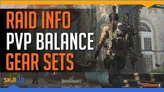 Division 2 Devs discuss Raid info, PVP vs PVE Balance, Gear Set Design & Survival Returning - dooclip.me