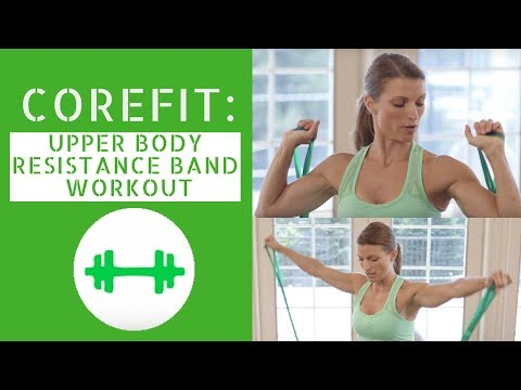 Resistance Band Upper Body Workout #1