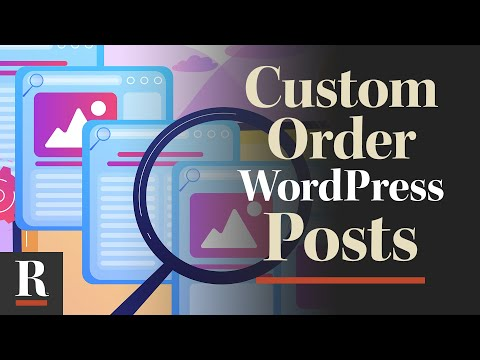 How to Custom Order WordPress Posts (with Drag and Drop)