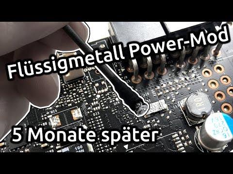 Flüssigmetall GPU Power-Mod - 5 Monate später?