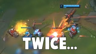 Here's Caitlyn at Competitive Play That Missed Her Target TWICE in a ROW...  | Funny LoL Series #547