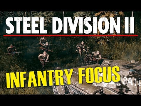 INFANTRY FOCUS! Steel Division 2 Beta Conquest Gameplay (Lyakhavichy, 4v4)