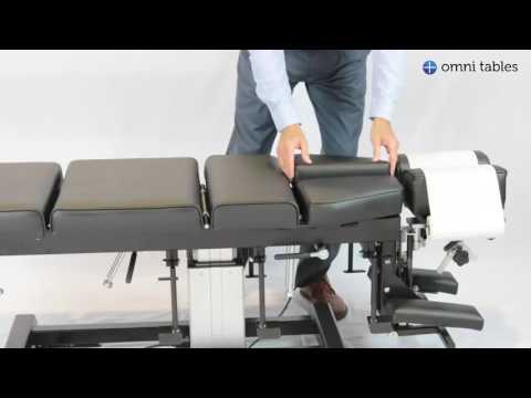 Omni Total Drop Chiropractic Table Operation