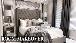EXTREME Bedroom Makeover | LUXE ON A BUDGET Room Transformation