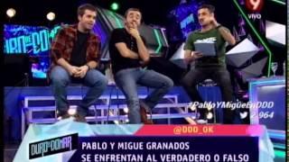 VERDADERO O FALSO - MIGUE Y PABLO GRANADOS - SEGUNDA PARTE - 22-08-14