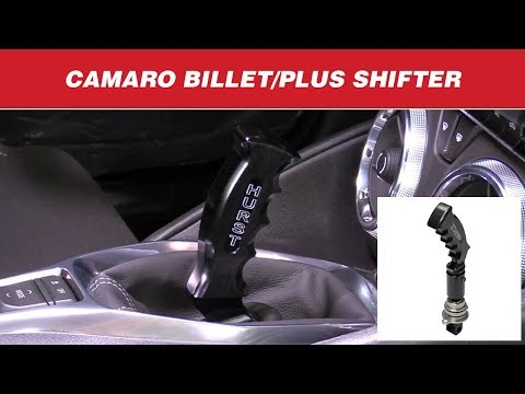 2016-17 Chevrolet Camaro LT - Install: Billet/Plus Pistol-Grip 6-Speed Shifter
