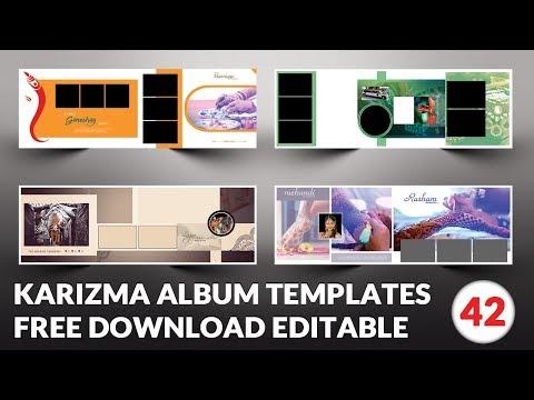 Indian 2019 Karizma Album Design 12x36 Psd Templates Free download | srinu photo editing.