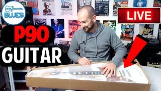 Unboxing The Artist Guitars Grungemaster Guitar (and The Mystery Item)