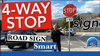 Who Has the Right of Way at a 4-Way (All-Way) STOP Sign