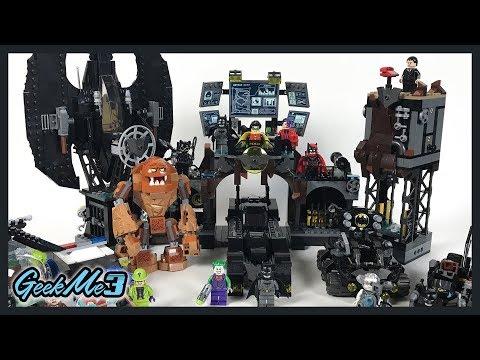 Vidéo LEGO DC Comics 76122 : L'invasion de la Batcave par Gueule d'argile
