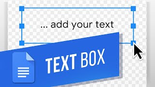 How to Insert a Text Box in Google Docs (Using the Drawing Tool)