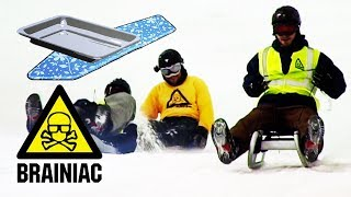 How to Make Your Own Sledge | Brainiac