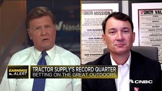 Tractor Supply CEO on the company's record quarter