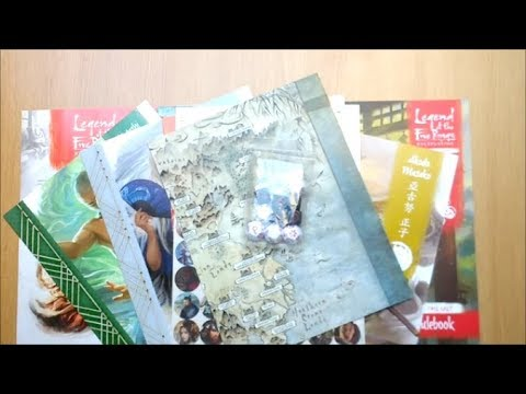 Arkham Chronicle Unboxes Legend of the Five Rings (L5R) RPG Beginner Game – Fantasy Flight Games