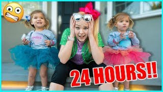 BABYSITTING TAYTUM AND OAKLEY FOR 24 HOURS!!!
