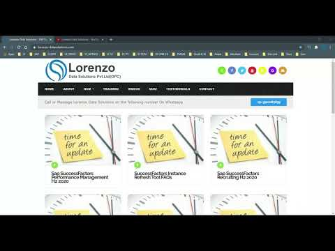 SAP Global Certification Online Exam (CERS01) - YouTube