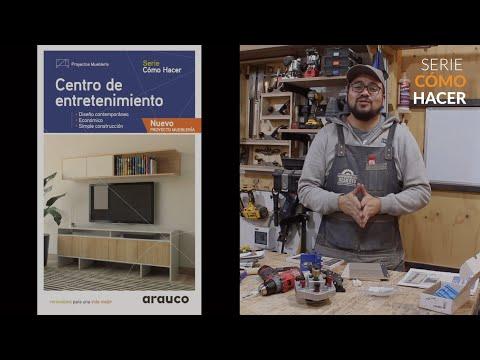 SERIE CÓMO HACER con el Carpintero del Desierto: Centro de Entretenimiento