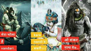 Mera Bhola Hai Bhandari Jatadhari Amli Whatsapp Status Full Screen