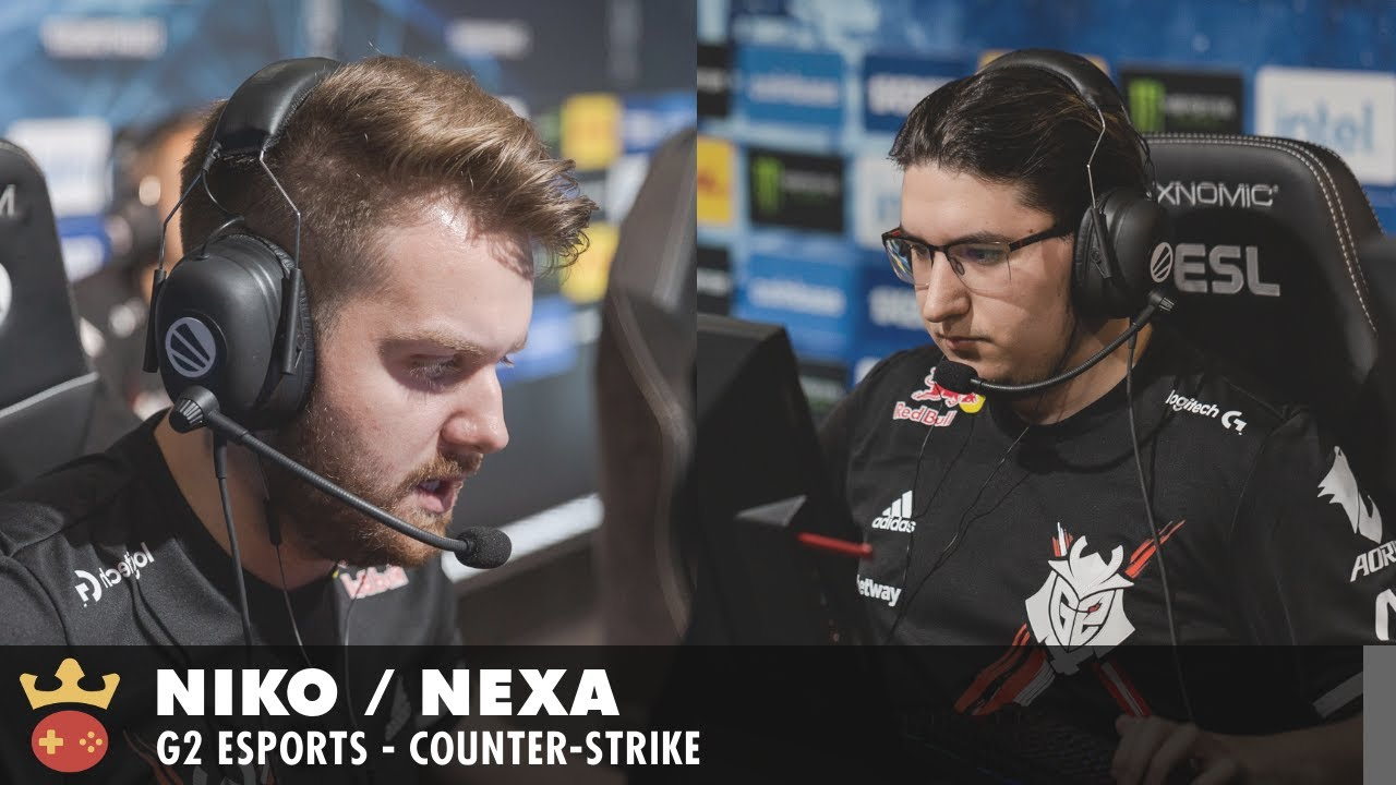 Video of Interview with nexa and NiKo from G2 Esports at IEM Fall 2021