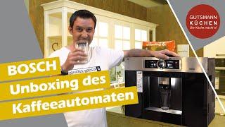 UNBOXING des BOSCH Kaffeevollautomaten CTL636ES6 - Was kann er? Was ist im Lieferumfang enthalten?