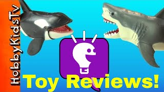Toy Shark Review with HobbyKidsTV